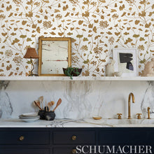 Load image into Gallery viewer, Schumacher Pennick Mylar Wallpaper 5010580 / Gold