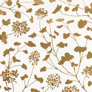 Schumacher Pennick Mylar Wallpaper 5010580 / Gold