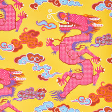 Load image into Gallery viewer, Schumacher Magical Ming Dragon Wallpaper 5010601 / Yellow