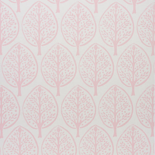 Schumacher Tree Wallpaper 5011181 / Pink