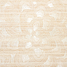 Load image into Gallery viewer, SCHUMACHER LOTUS EMBROIDERY SISAL WALLPAPER 5011210 / IVORY