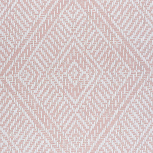 Schumacher Tortola Paperweave Wallpaper 5011252 / Pink