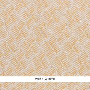 Schumacher Ashberg Paperweave Wallpaper 5011261 / Yellow