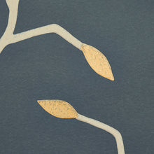 Load image into Gallery viewer, Schumacher Cymbeline Wallpaper 5011382 / Charcoal & Gold