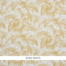Load image into Gallery viewer, Schumacher Toile Tropique Wallpaper 5011480 / Gold