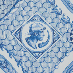 Schumacher Les Scenes Contemporaines Wallpaper 5011490 / Blue