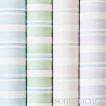 Load image into Gallery viewer, Schumacher Watercolor Stripe Wallpaper 5011570 / Leaf