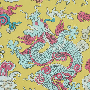 Schumacher Magic Mountain Dragon Wallpaper 5011591 / Blush