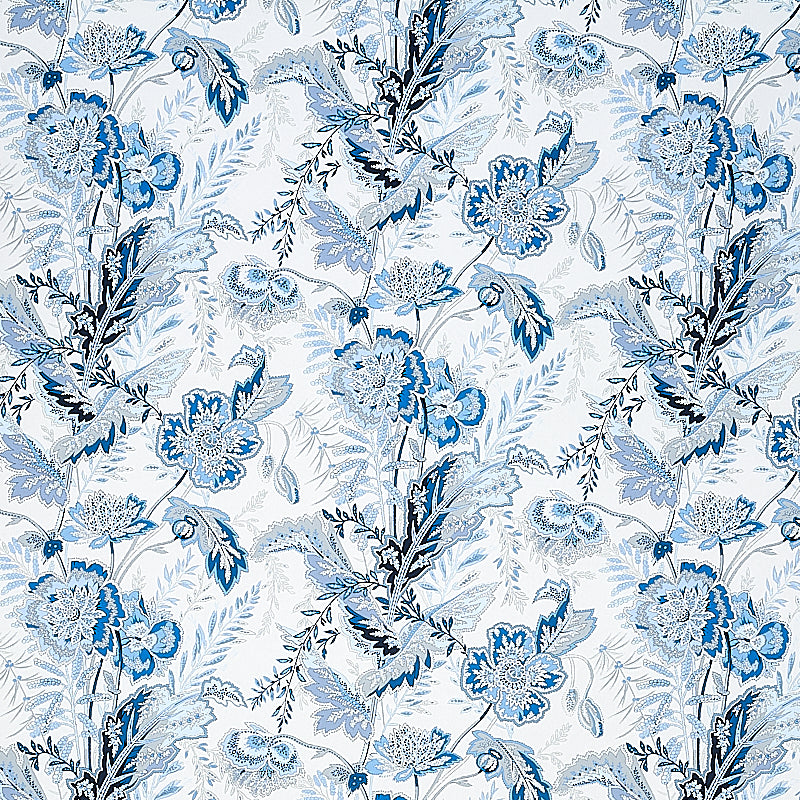 Schumacher Sandoway Vine Wallpaper 5011611 / Delft