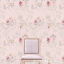 Load image into Gallery viewer, Schumacher Chinoiserie Moderne Wallpaper 5011652 / Soft Grey