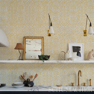 Schumacher Tiana Wallpaper 5011841 / Natural
