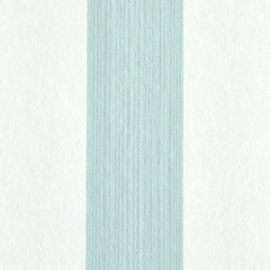 Schumacher Edwin Stripe Medium Wallpaper 5011882 / Mineral