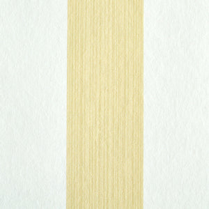 Schumacher Edwin Stripe Medium Wallpaper 5011890 / Buttercup