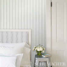 Load image into Gallery viewer, Schumacher Edwin Stripe Medium Wallpaper 5011891 / Sand