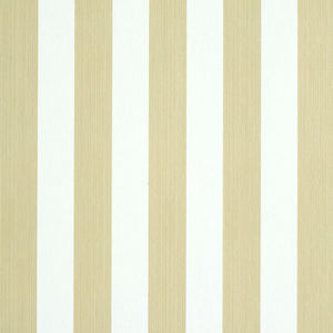 Schumacher Edwin Stripe Medium Wallpaper 5011891 / Sand