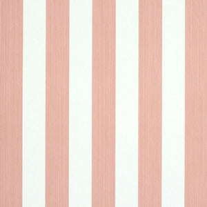 Schumacher Edwin Stripe Medium Wallpaper 5011895 / Pink