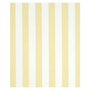 Schumacher Edwin Stripe Wide Wallpaper 5011910 / Buttercup