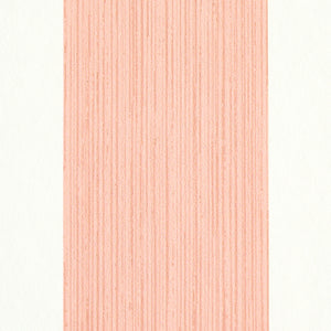 Schumacher Edwin Stripe Wide Wallpaper 5011915 / Pink