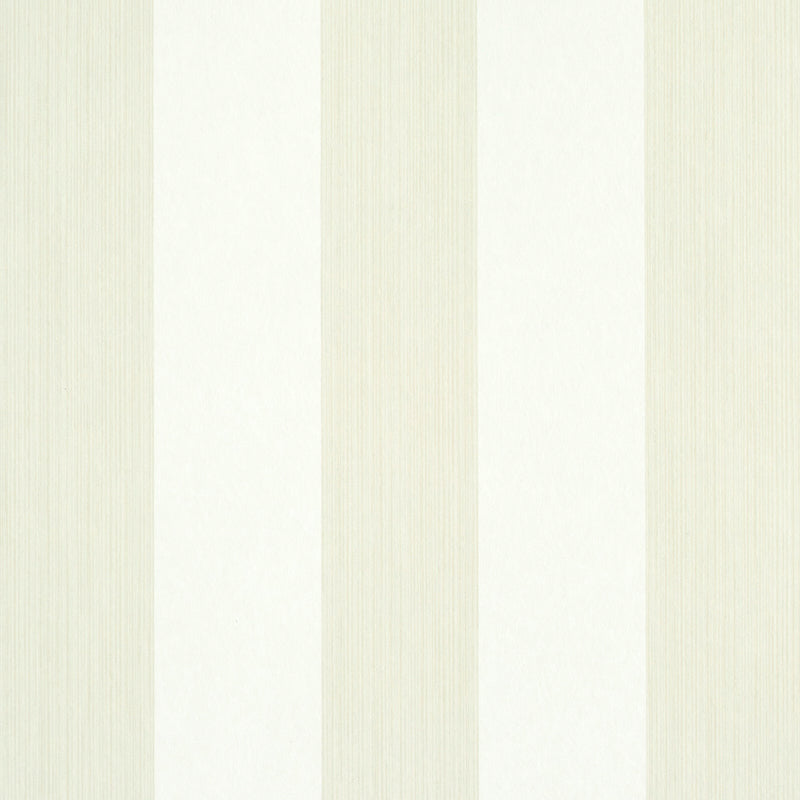 Schumacher Edwin Stripe Wide Wallpaper 5011917 / Naturelle