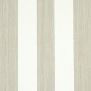 Schumacher Edwin Stripe Medium Wallpaper 5011918 / Linen