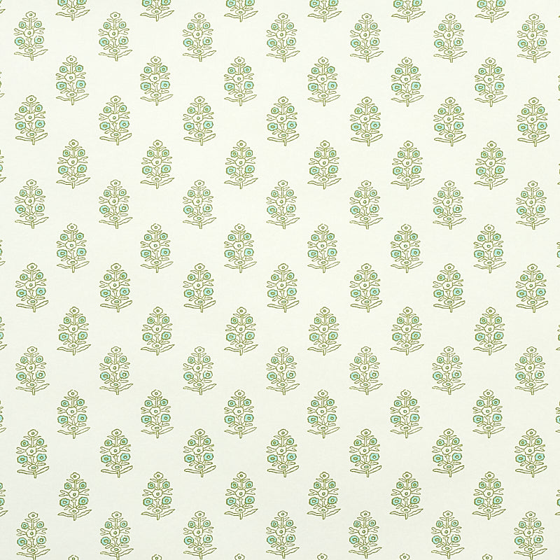 Schumacher Aditi Wallpaper 5011931 / Green