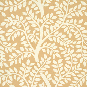Schumacher Temple Garden II Wallpaper 5011961 / Sand