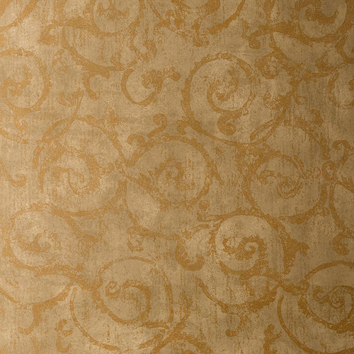Schumacher Bernini Scroll Wallpaper 528170 / Brushwood