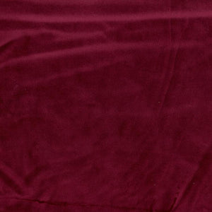 Upholstery Drapery Velvet Fabric Red / Ruby