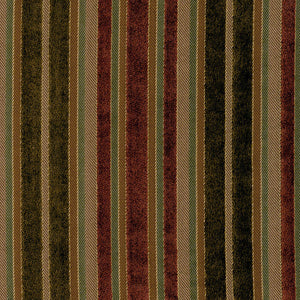 SCHUMACHER ELLINGTON STRIPE FABRIC 55162 / APOLLO