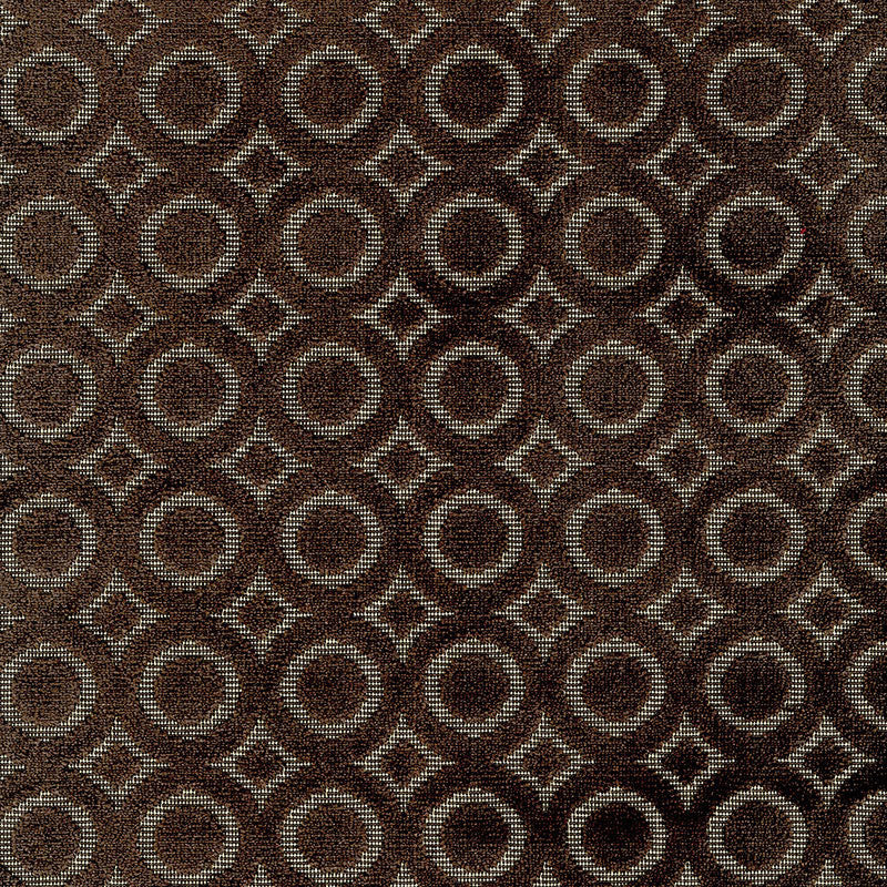 SCHUMACHER DECO VELVET FABRIC 55190 / JAVA