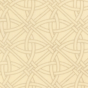 SCHUMACHER DURANCE EMBROIDERY FABRIC 55694 / LIMESTONE
