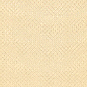 SCHUMACHER LUZIA DIAMOND FABRIC 58730 / CREAM