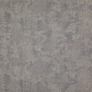 Cardozo Light Gray Abstract Mid Century Modern Upholstery Fabric / Heather