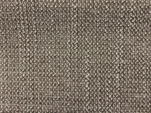 Crypton Stain Water Resistant Mid Century Modern Basketweave Tweed Chenille Gray Silver Ecru Neutral Upholstery Fabric RMCR XI