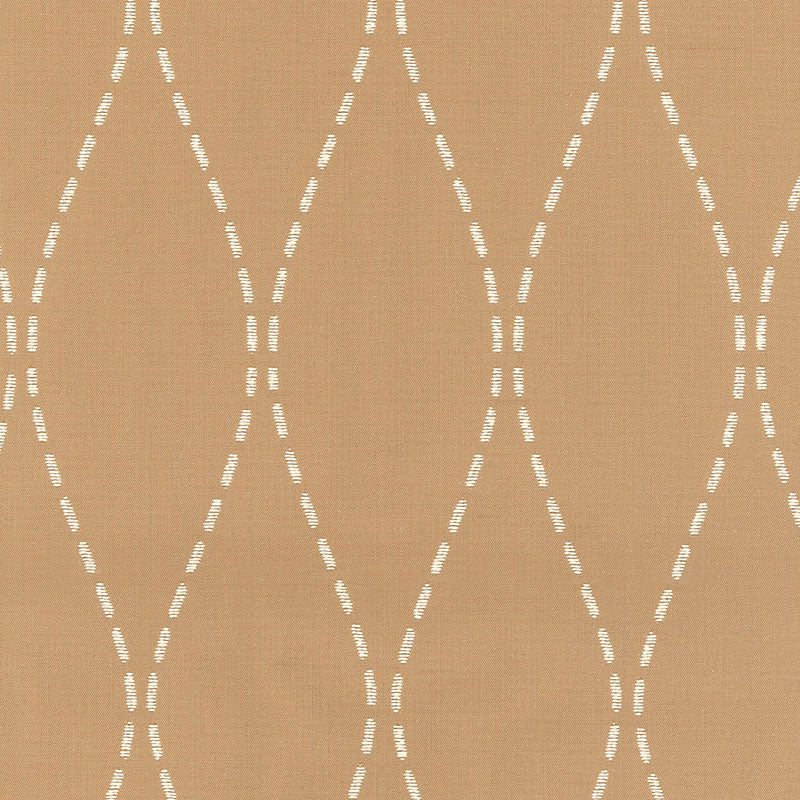SCHUMACHER NEW RIVER WEAVE FABRIC 62452 / CAFE'