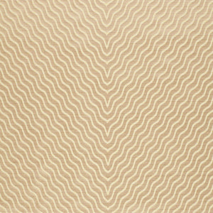 SCHUMACHER RIPPLE EFFECT FABRIC 63571 / CHAMPAGNE