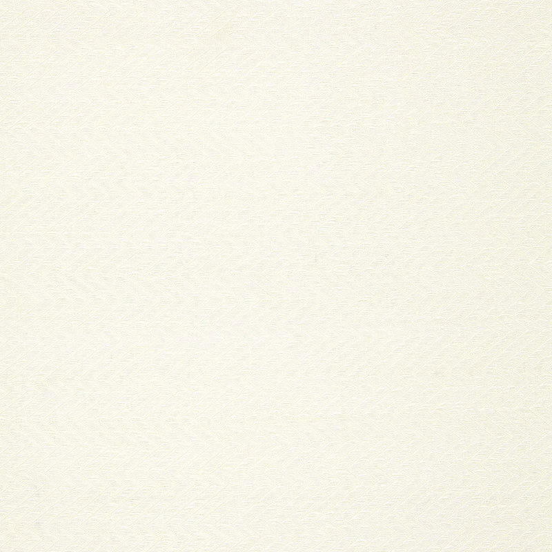 SCHUMACHER LOMPRET LINEN HERRINGBONE FABRIC 65302 / CHALK