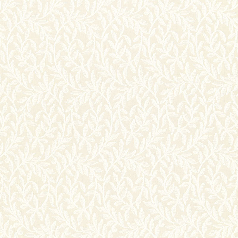 SCHUMACHER FERNWOOD SHEER FABRIC 66381 / ECRU