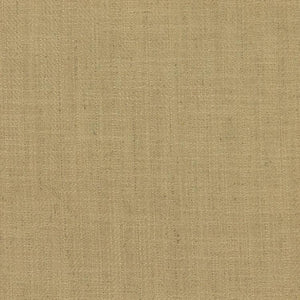 Barrister Beige Upholstery Minimalist Linen Poly Fabric / Latte