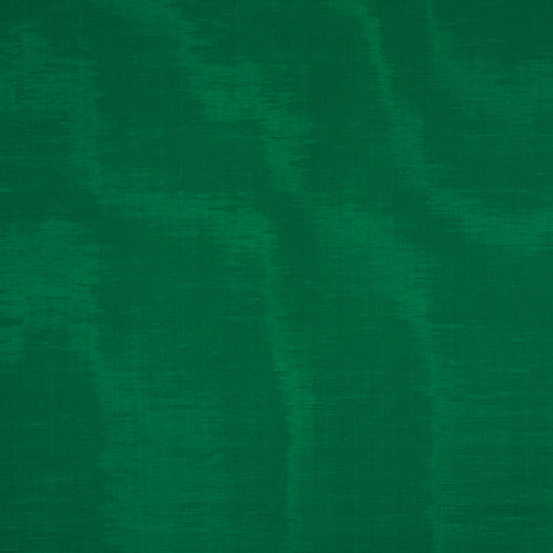 SCHUMACHER INCOMPARABLE MOIRE FABRIC 70450 / Emerald
