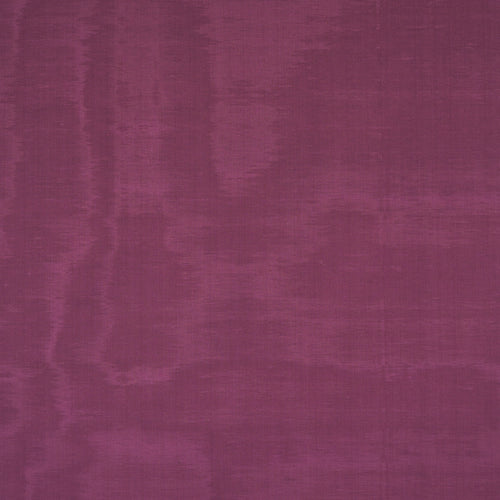 SCHUMACHER INCOMPARABLE MOIRE FABRIC 70451 / PLUM