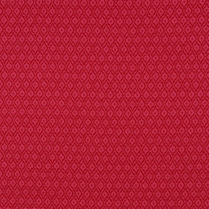 SCHUMACHER RED HOOK FABRIC 70555 / BERRY