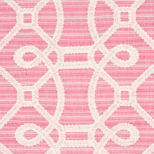 Load image into Gallery viewer, SCHUMACHER ZIZ EMBROIDERY FABRIC 71935 / PINK