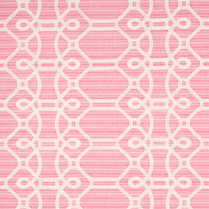 SCHUMACHER ZIZ EMBROIDERY FABRIC 71935 / PINK