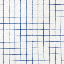 Load image into Gallery viewer, SCHUMACHER AGNES SHEER FABRIC 72080 / NAVY