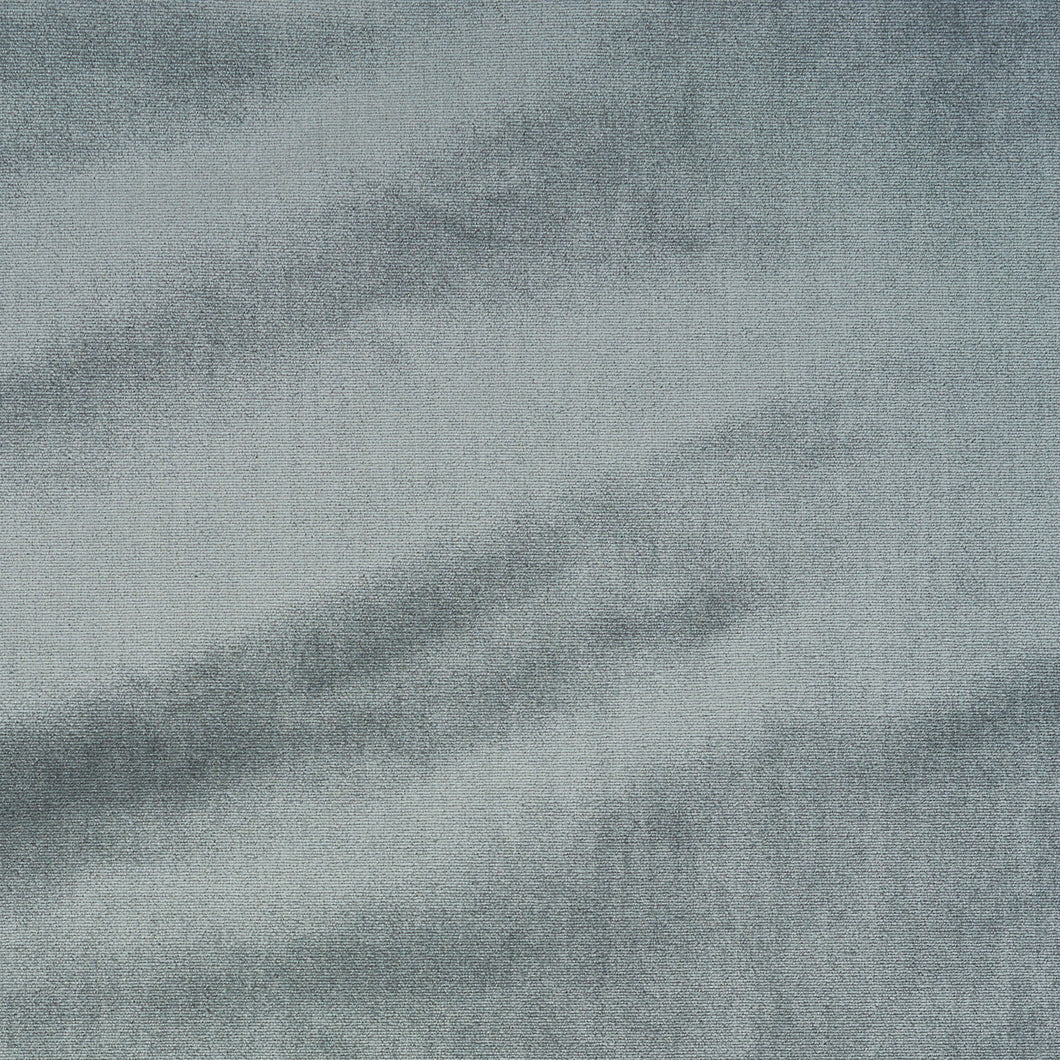 SCHUMACHER HIGH PERFORMANCE SILK VELVET FABRIC 72735 / PEWTER
