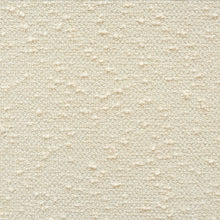 Load image into Gallery viewer, SCHUMACHER ARTISANAL BOUCLE FABRIC 73380 / CREAM
