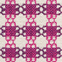Load image into Gallery viewer, SCHUMACHER CHECKMATE FABRIC 73433 / BERRY