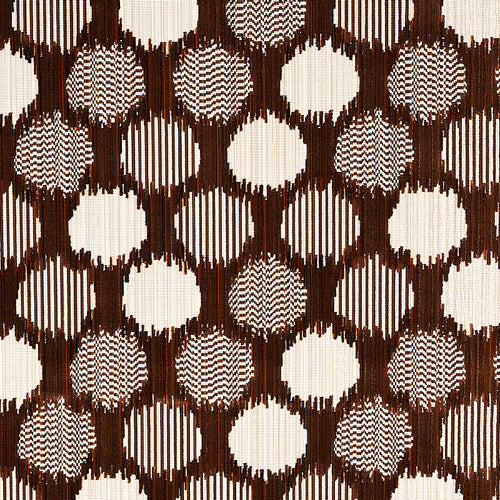 Schumacher Cirque Velvet Fabric 73923 / Brown