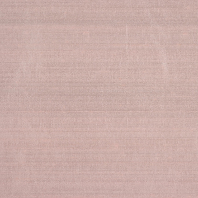 Pure Handwoven Silk Dupioni Drapery Fabric Blush / Pink